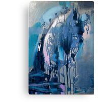 Navy blue Canvas Print