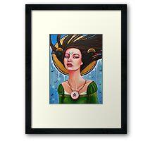 Morgan Le Fay Framed Print