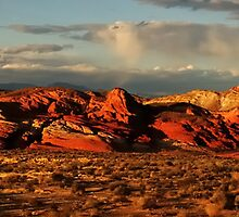 Evening Glow at the Valley of Fire by Vivian Christopher