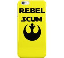 Rebel Scum iPhone Case/Skin