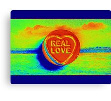 Real Love Canvas Print