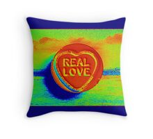 Real Love Throw Pillow