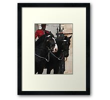 Awaiting inspection Framed Print