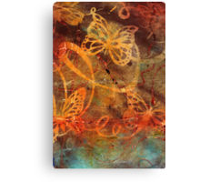 Butterfly Sun Dance Canvas Print