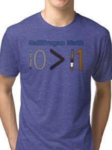 Gallifreyan Math Tri-blend T-Shirt