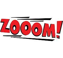 COMIC BOOK: ZOOM Photographic Print