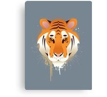 Tiger Graffiti Canvas Print
