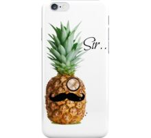 The Classy Pineapple iPhone Case/Skin
