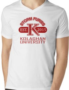 Welcome to the school of RAKDOS! Mens V-Neck T-Shirt
