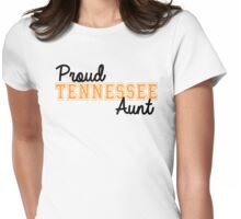 Proud Tennessee Aunt Womens Fitted T-Shirt