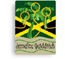 Jamaica Quidditch Canvas Print