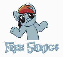 Rainbow Dash: Free Shrugs by ChaosGiant