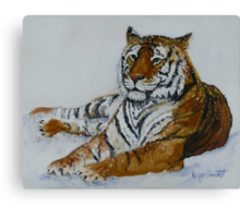 Tiger Painting  Canvas Print