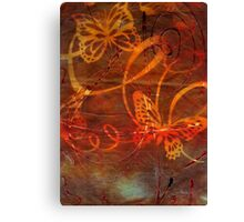Sweet Goodbyes and Butterflies Canvas Print