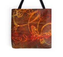 Sweet Goodbyes and Butterflies Tote Bag