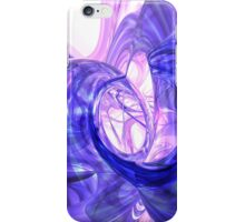 Blue Smoke Abstract iPhone & iPod Case iPhone Case/Skin