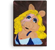 Miss Piggy Stardust Canvas Print