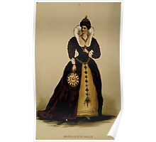 Fancy dresses described or What to wear at fancy balls by Ardern Holt 023 Margurite De Valois Poster