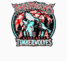 TIMBERWOLVES WHITE Long Sleeve T-Shirt