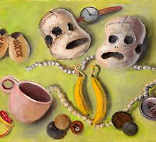 Their Lives Relics from the Lives of Sock Monkeys by Randy  Burns