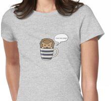 Killer Hedgehog Womens Fitted T-Shirt