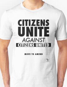 Citizens Unite Unisex T-Shirt
