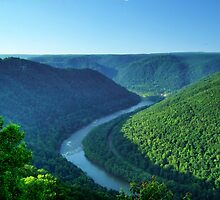 New River Gorge, West Virginia by James Brotherton