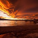 Mono Lake  Skies ablaze by Owed to Nature