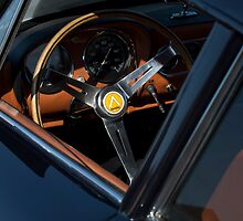 1963 Intermeccanica Apollo Steering Wheel by Jill Reger