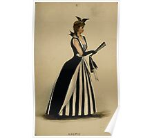 Fancy dresses described or What to wear at fancy balls by Ardern Holt 184 Magpie Poster