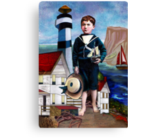 A SAILOR'S LIFE FOR ME Canvas Print