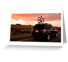 Sunset Highway Greeting Card