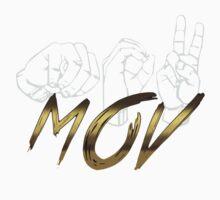 Sign Language MOV Logo One Piece - Long Sleeve