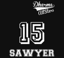 Dharma All-Stars! Sawyer Jersey by atlasspecter