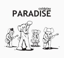 Paradise Elephants (Black) - Coldplay by FabFari