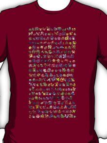 All Poke mon Silver poke mon T-Shirt