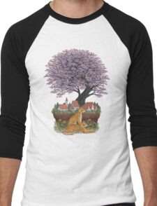 Bonsai Village Men's Baseball ¾ T-Shirt