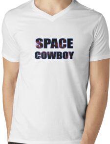SPACE COWBOY Mens V-Neck T-Shirt