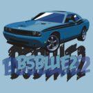 Bill's B5 Blue Challenger TeeShirt by kalitarios