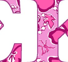Sigma Kappa Lilly Print Sticker