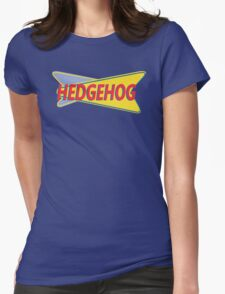 Hedgehog Drive In Womens Fitted T-Shirt