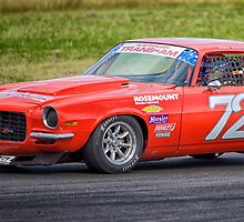 Trans-Am, Fataz Car #72 by Geoff Dunn