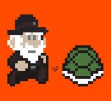 Darwin at Galapagos by Tai's Tees Kids Tee