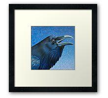 A Ravens Prayer Framed Print