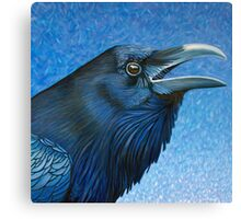 A Ravens Prayer Canvas Print