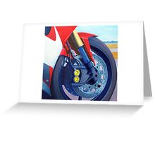 R6 Mandala Greeting Card
