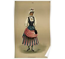 Fancy dresses described or What to wear at fancy balls by Ardern Holt 214 Normandy Poster