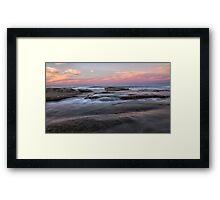 Battery Point, Sunshine Coast, Queensland Framed Print
