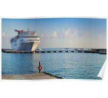 Cruise Ships Poster