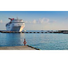 Cruise Ships Photographic Print